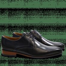 Derby Schuhe Xander 1 Venice Navy HRS Navy