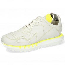 Sneakers Flo 1 Flex White Stitching Yellow