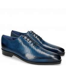Oxford Schuhe Lewis 37 Fence Print Shock