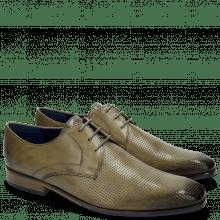 Derby Schuhe Rico 1 Rio Perfo Smoke