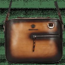 Handtaschen Quebec Vegas Tan Shade Dark Brown Hairon