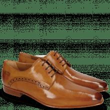 Derby Schuhe Kris 1 Tan