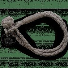 Armbänder Caro Woven Stone Accessory Nickel
