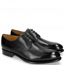 Derby Schuhe Lionel 3 Black LS Grey