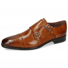 Monk Schuhe Lance 1 Tan Lining Purple Flex