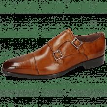 Monk Schuhe Lance 1 Tan Lining Purple Flex