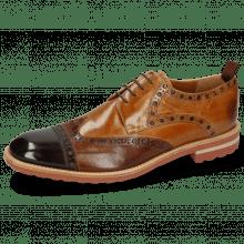 Derby Schuhe Eddy 48 Mogano Wood Sand