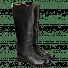 Stiefel Kristin 1 Milled Black