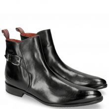 Stiefeletten Toni 35 Black Hairon Tweed