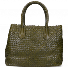 Handtaschen Kimberly 1 Woven Khaki