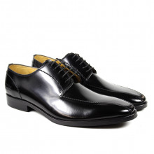 Derby Schuhe Gary 2 Brush Black HRS