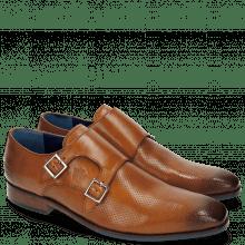 Monk Schuhe Rico 3 Rio Perfo Tan