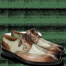 Derby Schuhe Marvin 13 Dark Brown Pine
