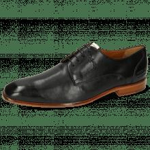 Derby Schuhe Elyas 4 Imola Black Patch