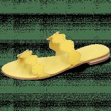 Pantoletten Hanna 45 Verona Yellow