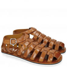 Sandalen Sam 3 Tan Modica White