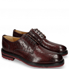 Derby Schuhe Trevor 7 Crock Burgundy Alcohol