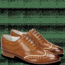 Oxford Schuhe Jessy 44 Tan Nude