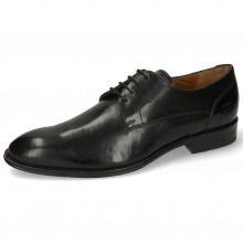 Derby Schuhe Kane 2 Black Lining Rich Tan
