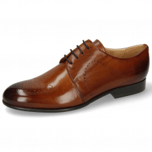 Derby Schuhe Sally 1 Wood Lining Rich Tan