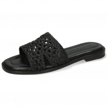 Pantoletten Elodie 20 Mignon Open Woven Black