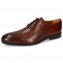 Derby Schuhe Greg 4 Venice Crock Wood