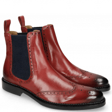Stiefeletten Erol 32 Ruby Elastic Honey Comb Navy