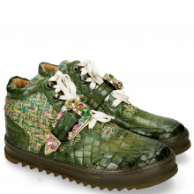 Sneakers Maxima 5 Crock Ultra Green Textile Blush