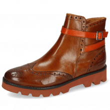 Stiefeletten Xanyia 1 Venice Wood Strap Winter Orange