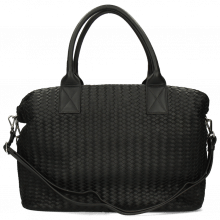 Handtaschen Kimberly 2 Woven Sheep Black