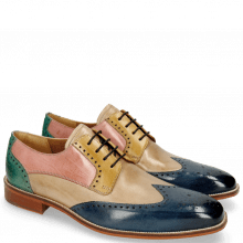 Derby Schuhe Jeff 14 Wind Digital Olivine Skin