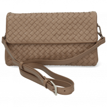 Handtaschen Kimberly 5 Woven Nappa Visone