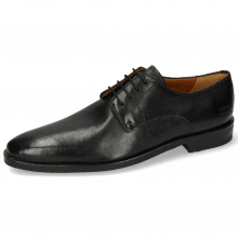 Derby Schuhe Alex 1 Remo Black Lining Rich Tan