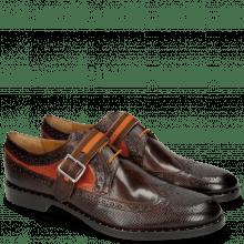 Derby Schuhe Mika 7 Dice Mogano Winter Orange