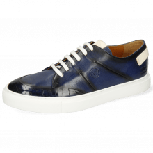 Sneakers Harvey 15 Crock Monza Navy Patches White