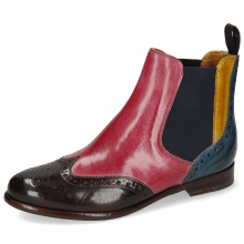 Stiefeletten Selina 6 Mulberry Pink Indy Yellow Ice Lake