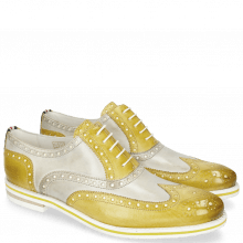 Oxford Schuhe Scott 12 Vegas Olivine Digital Underlay White