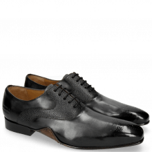 Oxford Schuhe Ethan 11 Black Rio Scotch Grain
