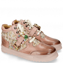 Sneakers Maxima 5 Rosa Textile Blush Silk Tongue