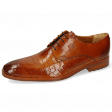 Derby Schuhe Greg 4 Venice Crock Tan