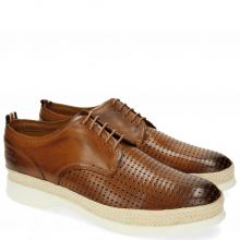 Derby Schuhe Elia 1 Square Tan