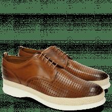 Derby Schuhe Elia 1 Square Tan