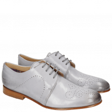 Derby Schuhe Sally 1 Salerno Lila