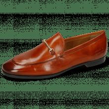 Loafers Scarlett 1 Burnt Orange Trim Gold