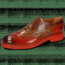 Oxford Schuhe Trevor 1 Winter Orange Tortora Wood