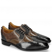 Derby Schuhe Dave 2 London Fog Milano Grey Stone