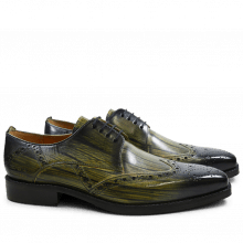 Derby Schuhe Nicolas 3 Cedro Shade & Lines Navy HRS