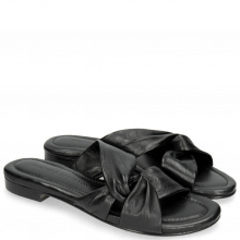 Pantoletten Hanna 56 Nappa Black