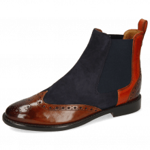 Stiefeletten Selina 29 Wood Suede Reflex Blue Winter Orange Flex