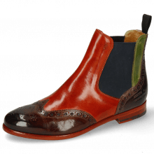 Stiefeletten Selina 6 Wood Winter Orange New Grass Stone